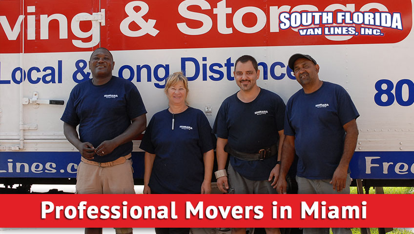 Choosing Professional Movers Miami