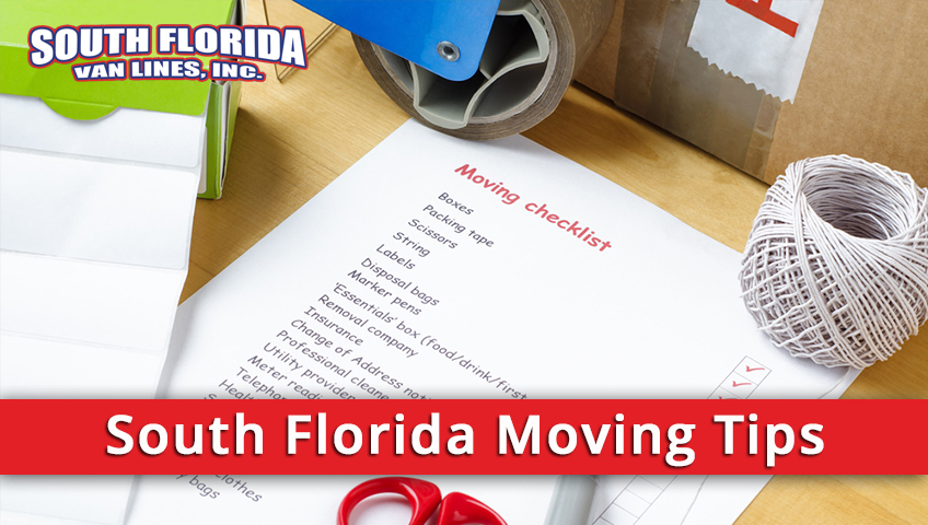 Basic Tips for Moving To South Florida