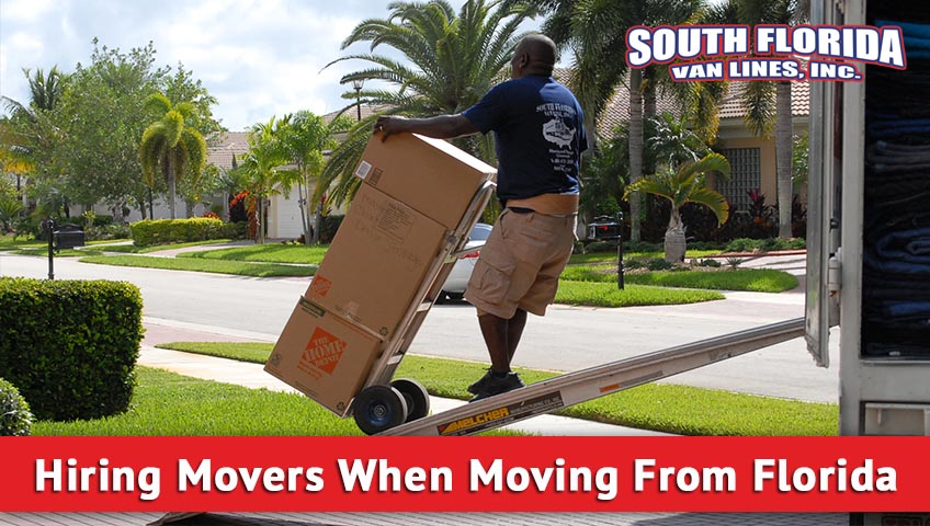 Hiring Movers When Moving From Florida