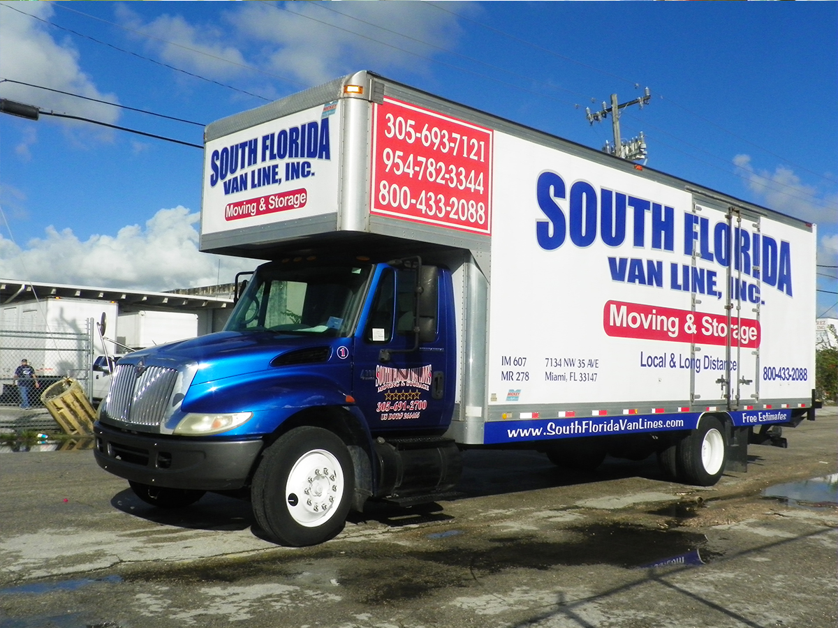 Moving Company Miami South Florida Van Lines Free Quotes