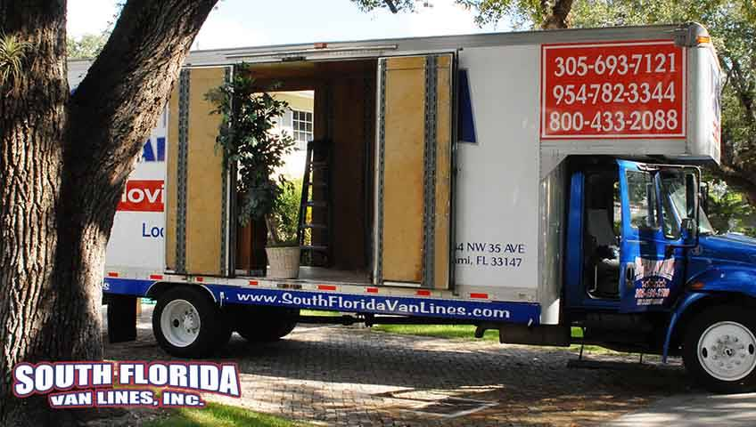 Cross Country Moving Companies South Florida Van lines